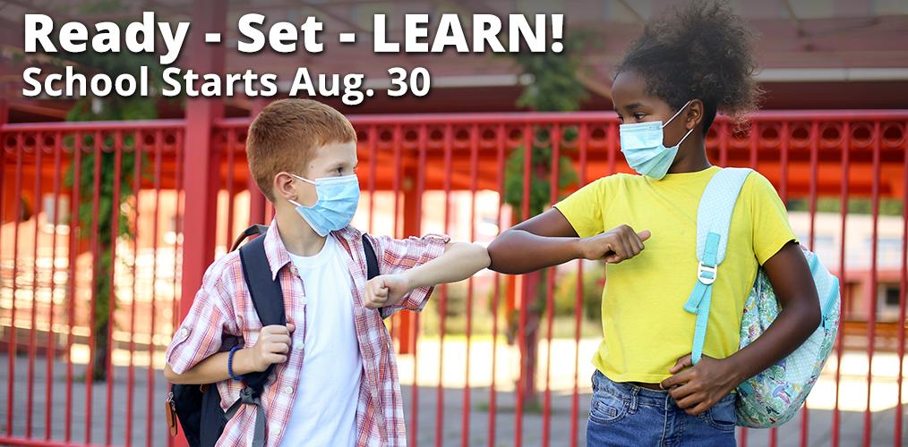 School Starts August 30