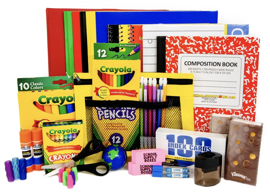 Order Your School Supplies